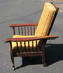 A real Morris chair. Soon to be restored by Redeux South!
