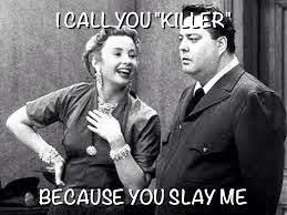 I call you killer